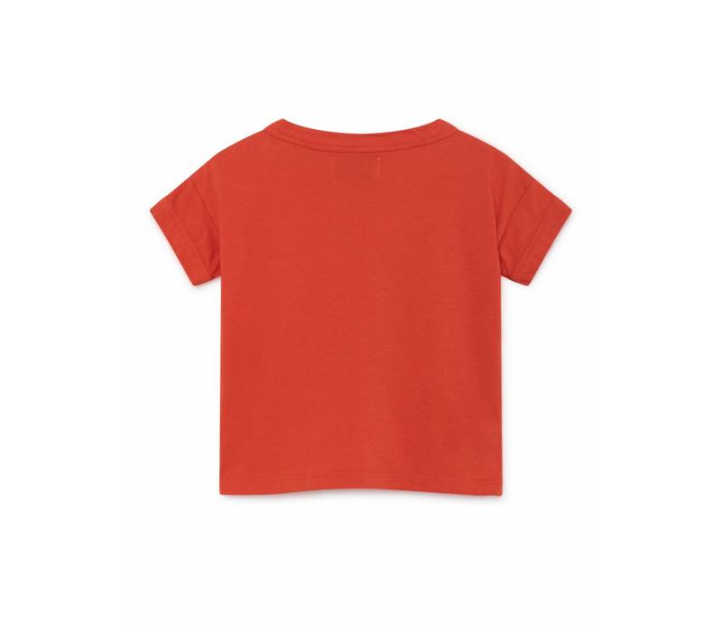 Bobo Choses Flower Bus Short Sleeve T-Shirt