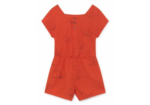 Bobo Choses Bobo Choses Geese Sleeveless Playsuit