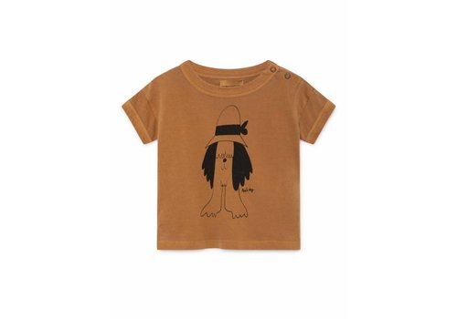 Bobo Choses Bobo Choses Paul's Brown Short Sleeve T-Shirt