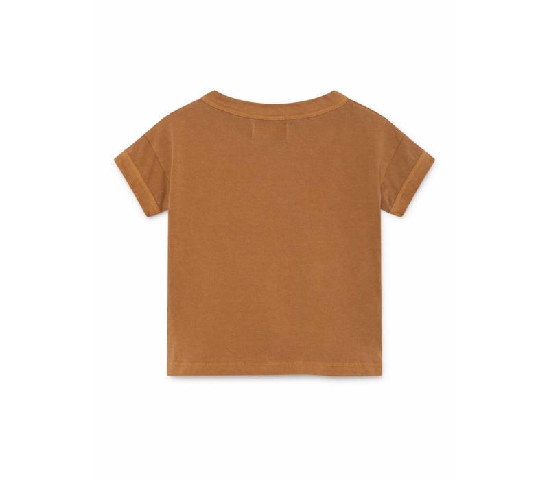 Bobo Choses Paul's Brown Short Sleeve T-Shirt
