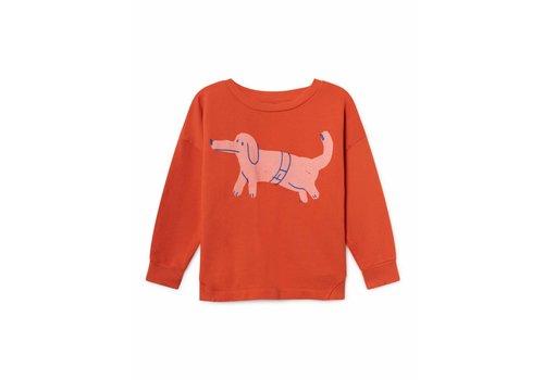Bobo Choses Paul's Dog Round Neck Sweatshirt