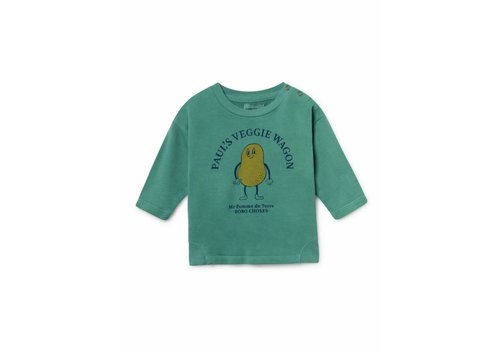Bobo Choses Bobo Choses Pomme De Terre Round Neck Sweatshirt