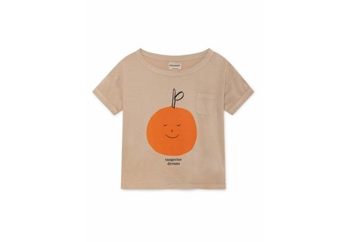 Bobo Choses Bobo Choses Tangerine Dreams Short Sleeve T-Shirt