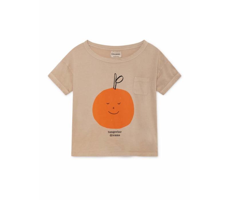 Bobo Choses Tangerine Dreams Short Sleeve T-Shirt