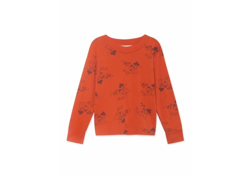 Bobo Choses Bobo Choses Tangerine Long Sleeve T- Shirt