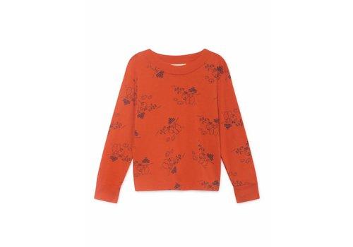 Bobo Choses Bobo Choses Tangerine Long Sleeve T- Shirt
