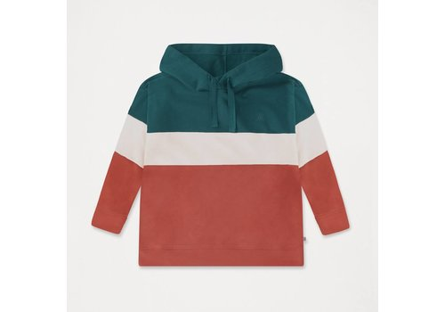 Repose AMS Repose AMS 7. Hoodie Color Block Deep Night Blue
