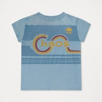 Repose AMS 20. Tee Shirt Weathered Dreamy Blue