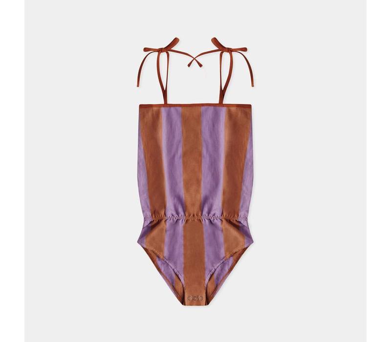 Repose AMS 25. Body Warm Earthy Lilac Stripe