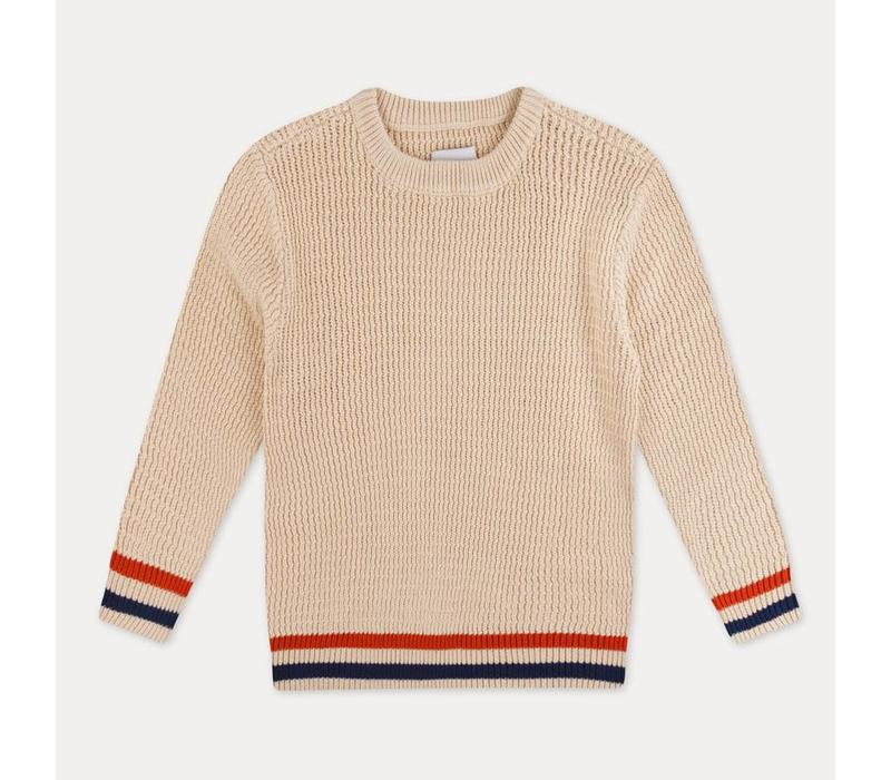 Repose AMS. 40. Knit Sweater Sand Ivory