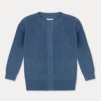 Repose AMS 41. Knit Cardigan Aged Blue
