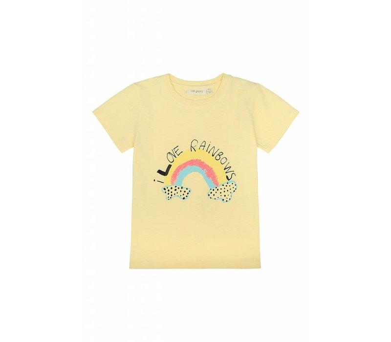 Soft Gallery Kids Bass T- Shirt French Vanilla