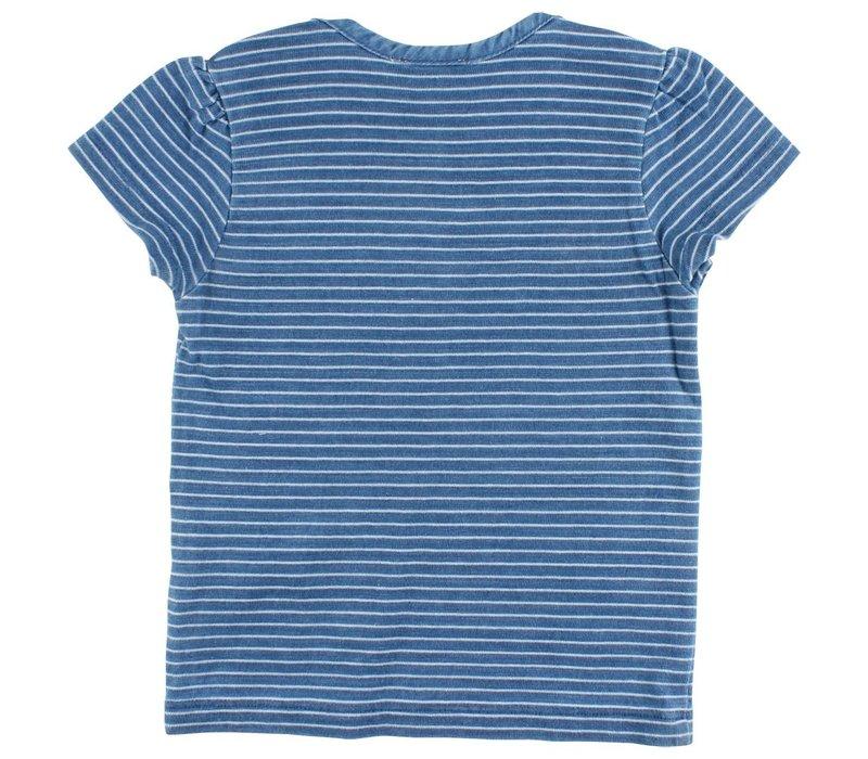 EN FANT Ink SS T-Shirt Indigo Blue