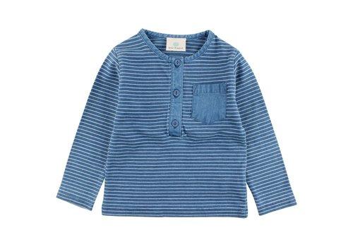 EN FANT EN FANT Ink LS T-Shirt Indigo Blue