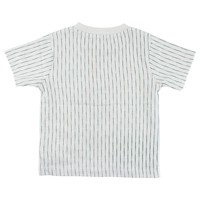 Small Rags SS T-Shirt Streep Foggy Dew