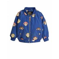 Mini Rodini Monkey Baseball Jacket Blue