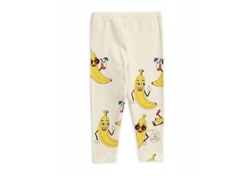 Mini Rodini Mini Rodini legging Banana aop Leggings Offwhite