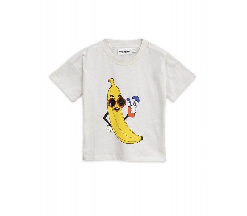 Mini Rodini Banana sp Tee Offwhite