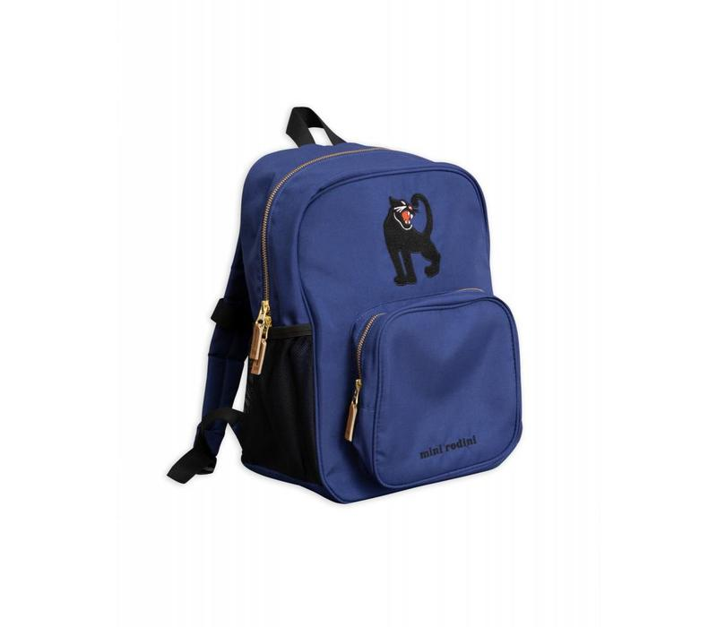 Mini Rodini Pand Blue Backpack