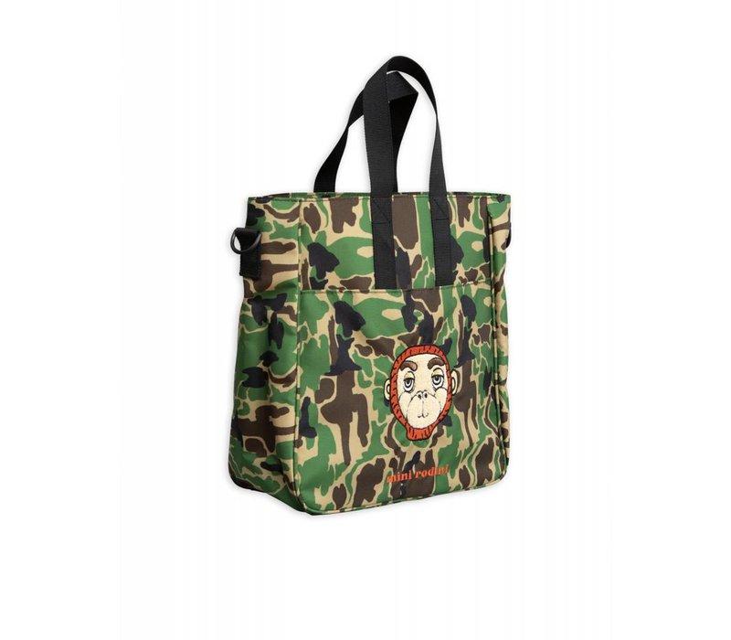 Copy of Mini Rodini backpack Camo Green