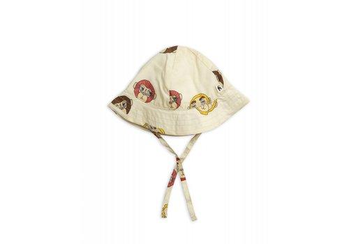 Mini Rodini Mini Rodini Monkey Sun Hat
