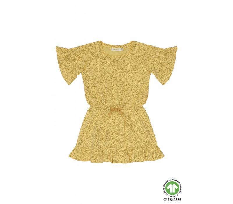 Soft Gallery Danica Dress Leospot Yellow