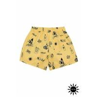 Soft Gallery Dandy Swim Pants Goldfinch AOP