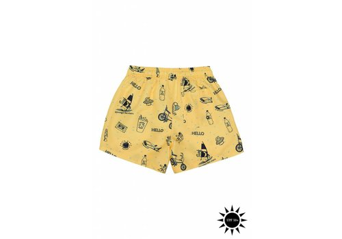 Soft Gallery Soft Gallery Dandy Swim Pants Goldfinch AOP