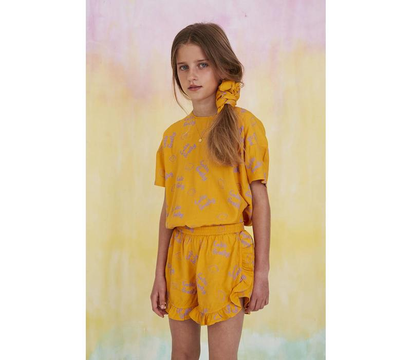 Soft Gallery Shorts Dusty Sunflower