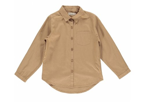 MarMar Copenhagen MarMar Copenhagen Tommy Light Cotton Shirt Caramel