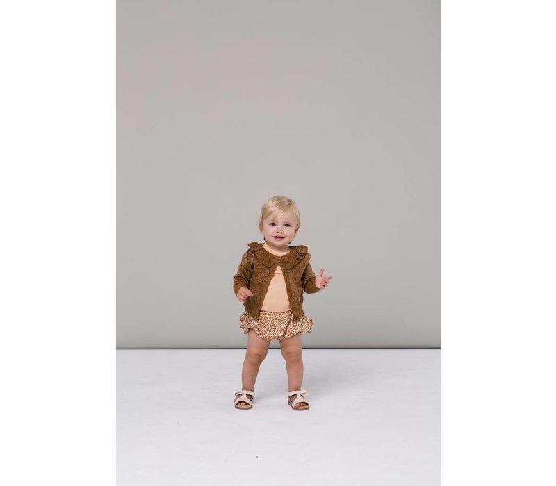 MarMar Cardigan Tilda Lurex Knit Caramel