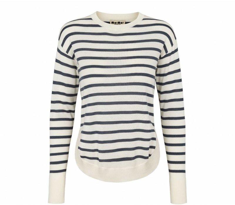 MarMar Copenhagen Tao Fine cotton Mix shaded blue stripe