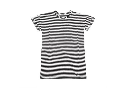 Mingo Mingo t-shirt dress Stripes