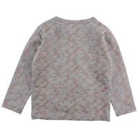 Small Rags Long Sleeve Grey Melee_Copper