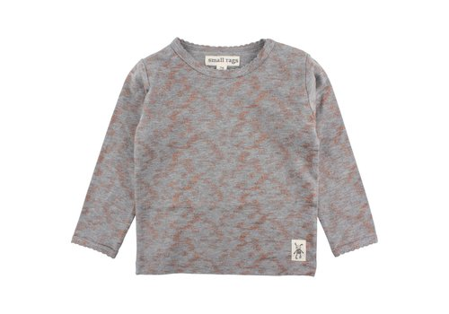 Small Rags Small Rags Long Sleeve Grey Melee_Copper