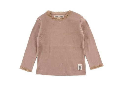 Small Rags Small Rags Fanny baby longsleeve warm taupe