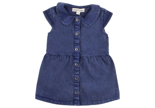 Small Rags Small Rags Grace Dress blue