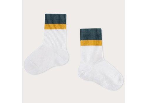 Repose AMS Repose ams 53. sporty socks white stripe