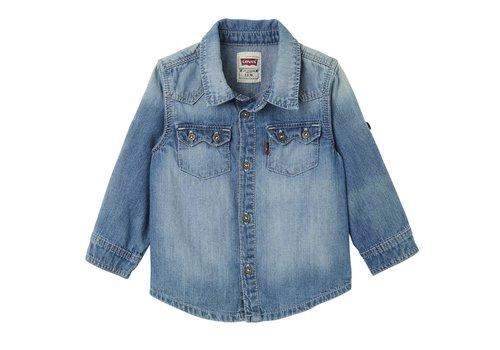 Levis Levis Overhemd Indigo Baby