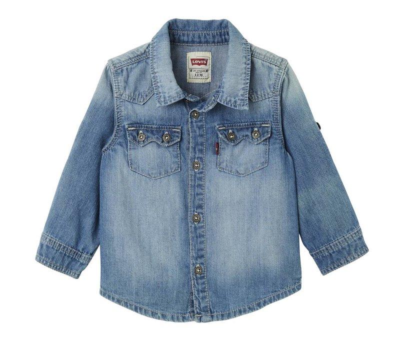 Levis Overhemd Indigo Baby