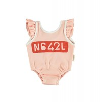 Piupiuchick Baby Sleeveless body salmon