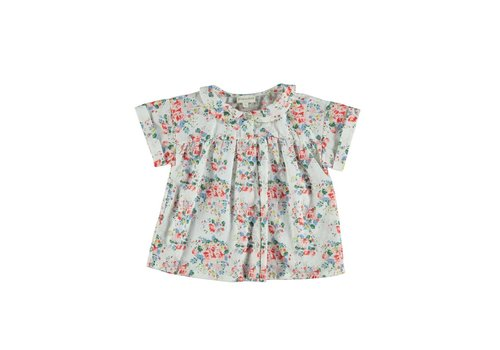 PIUPIUCHICK Piupiuchick Peter Pan Collar Blouse Flowers