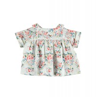Piupiuchick Peter Pan Collar Blouse Flowers