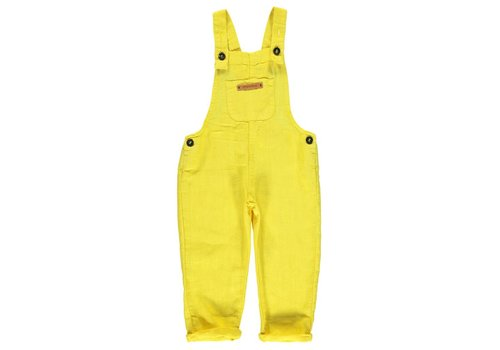 PIUPIUCHICK Piupiuchick Dungarees Yellow Linnen