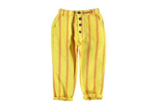 PIUPIUCHICK Piupiuchick Unisex trousers Yellow red