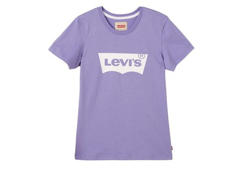 Levis Levis Tee Shirt Logo Aster Purple U