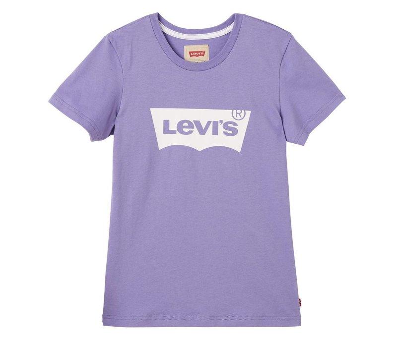 Levis Tee Shirt Logo Aster Purple U