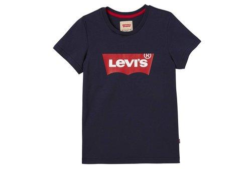 Levis Levis Tee Shirt Logo Dress Blue U