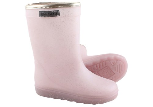 EN FANT Enfant Rain Boot Rose Gold