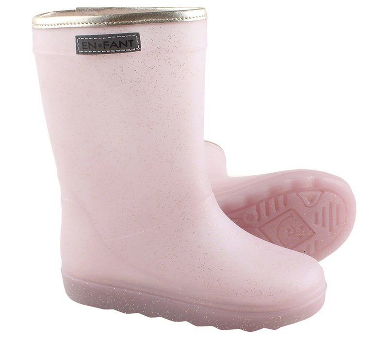 Enfant Rain Boot Rose Gold